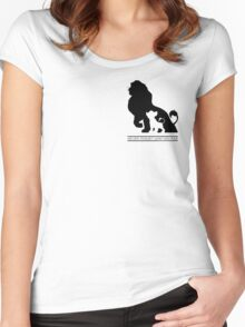 Never Forget Who You Are. -Lion King Women's Fitted Scoop T-Shirt