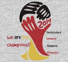 FIFA World Cup Champion Germany Deutschland Glückwunsch T-Shirt