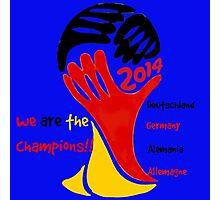 FIFA World Cup Champion Germany Deutschland Glückwunsch Photographic Print