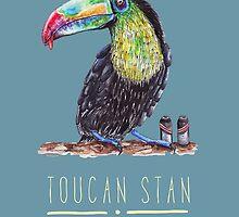 Toucan Stan by Imogen Ridley