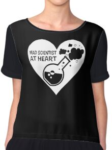 Mad Scientist at Heart Chiffon Top