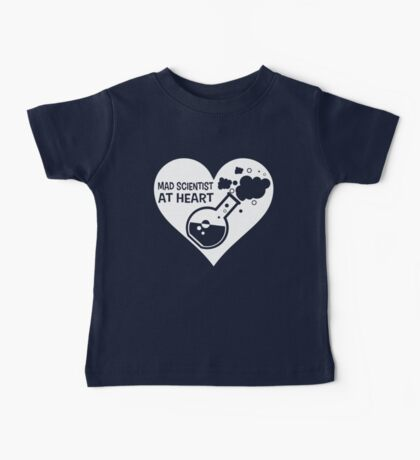 Mad Scientist at Heart Baby Tee