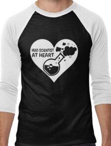 Mad Scientist at Heart Men's Baseball ¾ T-Shirt