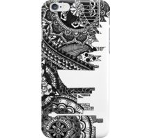 Zentangle City Sydney [Black and White] iPhone Case/Skin