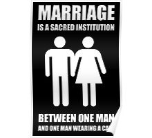 MARRIAGE, A Sacred Institution Poster