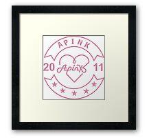apink 2011 Framed Print