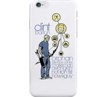 Clint 'Hawkeye' Barton iPhone Case/Skin