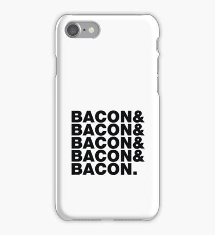 Bacon & Bacon & Bacon & Bacon & Bacon. iPhone Case/Skin