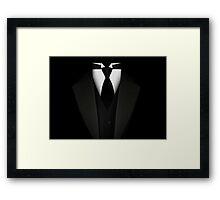 Men's Tuxedo Suit   Framed Print