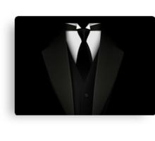 Men's Tuxedo Suit   Canvas Print