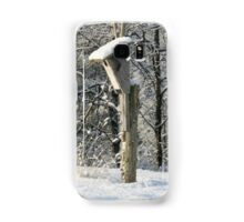 Unoccupied Blue bird houses are unhappy homes Samsung Galaxy Case/Skin