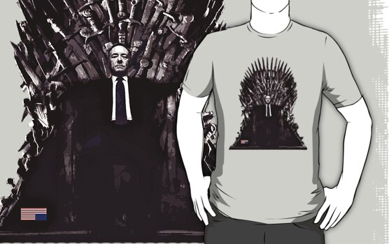 Underwood on the Iron Throne by RedLemon