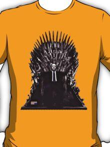 Underwood on the Iron Throne T-Shirt
