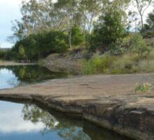 Medway Creek ,Bogantungan ,Queensland.  Sticker