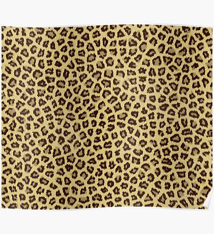 Babou, Serpentine! Leopard Print Poster