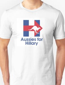 Aussies for Hillary T-Shirt