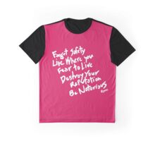 Be Notorious Pink (Type Only) Graphic T-Shirt