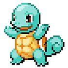 Pokemon - Squirtle Sprite by ffiorentini