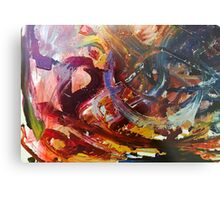 Colorfully Heartless Metal Print