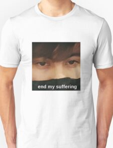 LeafyIsHere - end my suffering Unisex T-Shirt