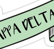 KAPPA DELTA ribbon Sticker