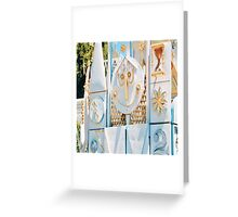 It's A Small World Clock Face Greeting Card