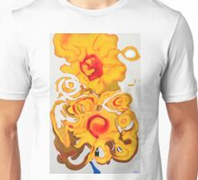 Sunflower in Abstraction Unisex T-Shirt