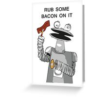 Bacon Bot GMM Greeting Card