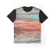 Tangerine Dusk - Oil Pastel Graphic T-Shirt