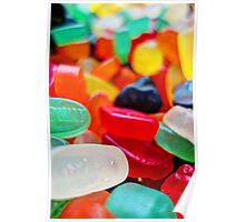 Sweets 01 - Wine Gums Poster