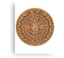 mayan aztec mythical calendar 2012 doomsday Canvas Print