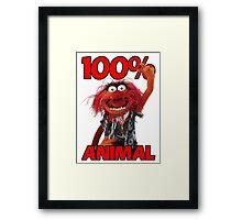 Muppets 100 Animal oder Geburtstagsgeschenk Framed Print