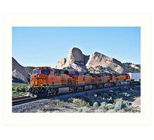 BNSF # 7955 at Cajon Pass Art Print