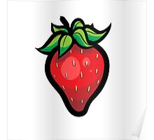 Fruit Punch! Strawberry Single Print Poster