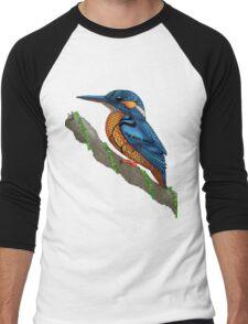 Kingfisher Men's Baseball ¾ T-Shirt