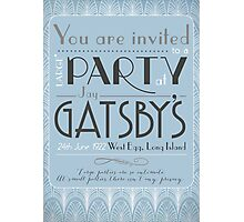 Party at Gatsby's Invitation Photographic Print