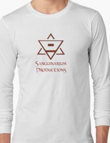 Sanguinarium Productions Logo Long Sleeve T-Shirt