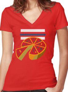 Pepper Roni's Shirt Women's Fitted V-Neck T-Shirt