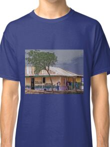 Saloon bar at Melelo, Kenya Classic T-Shirt