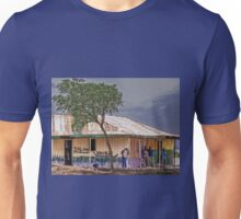 Saloon bar at Melelo, Kenya Unisex T-Shirt