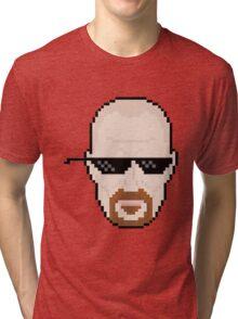 8 Bit Walt Tri-blend T-Shirt