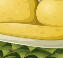Glitch furniture sofa durian sofa Sticker