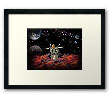 The Martian Dragon Framed Print