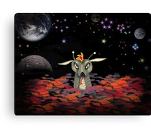 The Martian Dragon Canvas Print