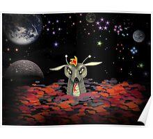 The Martian Dragon Poster