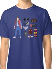Back to the Future : Time Traveler Essentials 1985 Classic T-Shirt