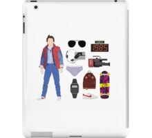 Back to the Future : Time Traveler Essentials 1985 iPad Case/Skin