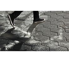 Walking Photographic Print