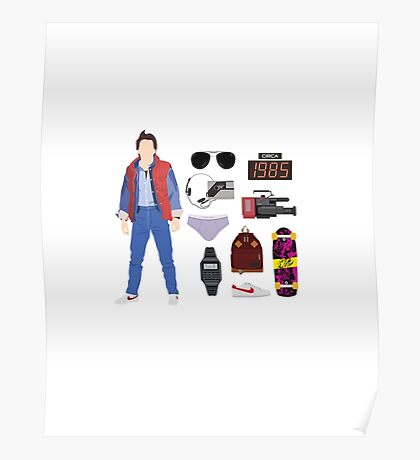 Back to the Future : Time Traveler Essentials 1985 Poster