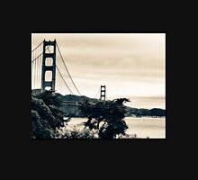 San Francisco Golden Gate Sepia  Unisex T-Shirt